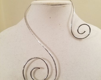 Silver and Swirly