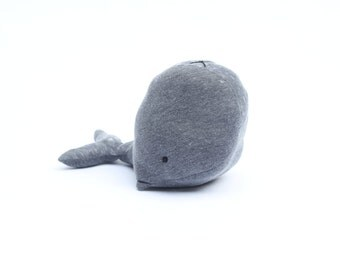 Big Whale Plush, Stuffed Whale, Whale Stuffed Animal, Whale