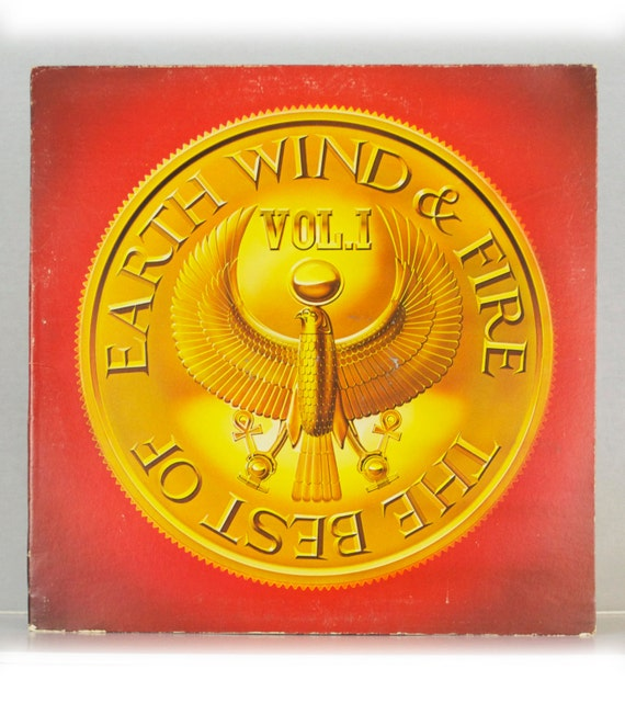 Earth, Wind & Fire - The Best Of Volume 1 Album Columbia Records 1978 Original Vintage Vinyl Record