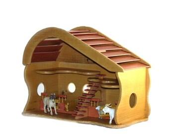 Wooden Stable, toy Barn - Ξύλινος Σταύλος