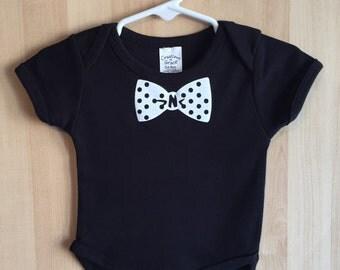 SALE ITEM Baby Onesie - Baby Bodysuit - Baby shirt - Bow Tie