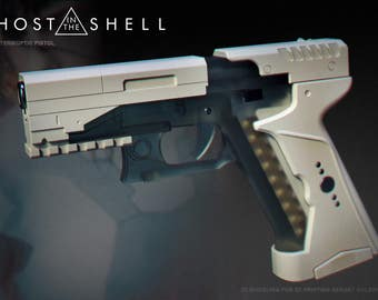 3d model Major's Pistol from movie Ghost in the shell