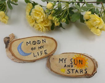 Game Of Thrones Inspired Wedding Favor. Moon of my Life. My Sun and Stars. Game Of Thrones Magnet. Khal and Khaleesi. Game Of Thrones Decor