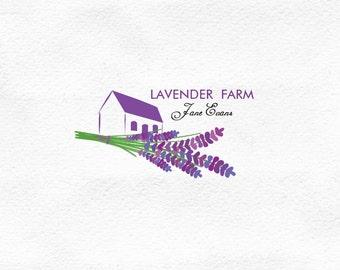 Custom logo, Premade Logo (OOAK), Small Business Logo, Lavender, Digital Art, Logo Design, Soap Logo Design, Blog Logo, Professional Logo