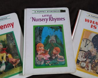 Puppet Storybooks - LOT of 3