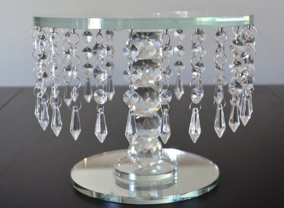 wedding cake stand with hanging crystals cake stand cake stand wedding cake 25684