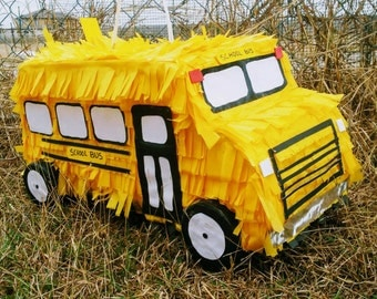 School Bus Pinata