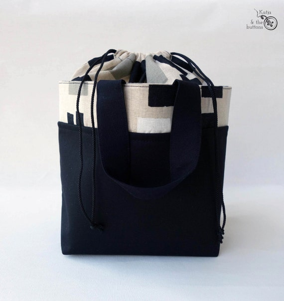 Mens bag Lunch bag Bento bag Japanese style bag eco