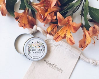 COCONUT & VANILLA Solid Perfume | Natural Perfume Balm