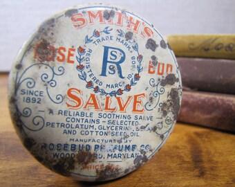 Vintage Smith's Salve Tin