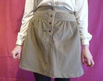 Lois brown vintage skirt