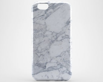White Marble iPhone Case iPhone 7 Cover iPhone 7 Plus Case iPhone 6 Marble iPhone 6 Plus Case LG G3 G4 Marble Galaxy Case Huawei P8 Marble