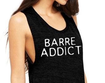 Barre Addict Muscle Tee