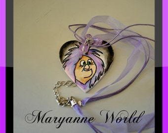 Mad madam Mim - Maga Magò - necklace - Disney -   the sword in the Stone - Walt disney - disney jewels - disney necklace - walt disney