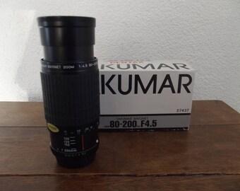 Takumar Pentax lens, Takumar bayonet, zoom 80 - 200 mm F4.5