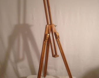 Bridge painter old wooden adjustable and foldable feet stretch Vintage