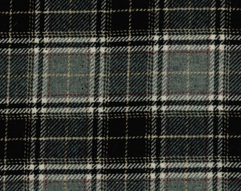 1701/1 Scottish Tweed Fabric 100% Pure Wool By The Metre