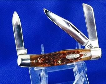 Vintage 1994 Case XX Appaloosa Bone Mini Moose #63032