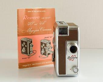 Revere 8 Model 40 Magazine Camera