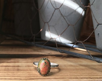 Unakite simplicity ring