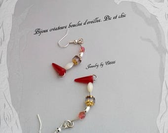 Jewelry designers earrings. Pic and chic
