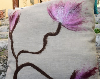 "Decorative cushion ""Cherry blossom"""