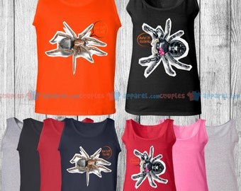 How Cute You Are & Aww I'm Blushing - Matching Couple Tank Top - His and Her Tank Tops - Love Tank Tops
