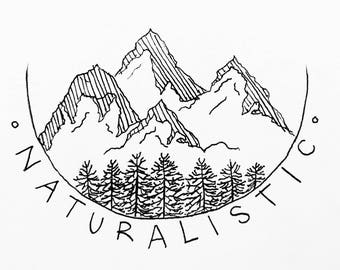 Naturalistic T-SHIRT PRE-ORDER