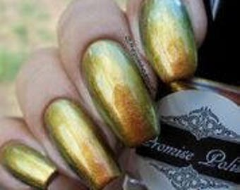 Snake Oil multichrome nail polish top coat