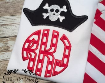 personalized kids pirate shirt, kids summer shirts, custom pirate party shirt, first day of school shirt, pirate birthday shirt, girls red