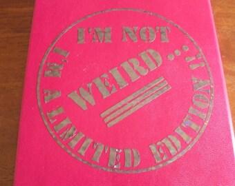 sticker for bullet journal cover