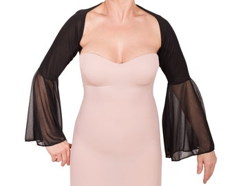 sheer bell removable sleeves