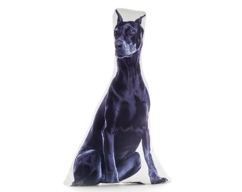 Doberman, Doberman Pinscher, Doberman Gifts, Dog Pillow, Fathers Day Gifts, Gift For Him, Dogs, Dog Gifts, For Dogs, Novelty Gifts, Cushions