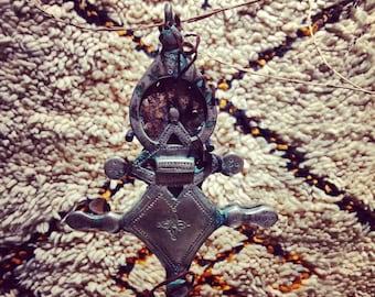 Amulet Tuareg, ethnic jewelry