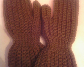 8-10 year old crocheted mittens,child mittens,crocheted mittens,handmade,winter accessories,made to order
