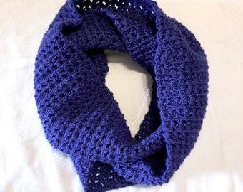 Crochet Infinity Scarf, Crochet Cowl Scarf, Crochet Neckwarmer, Warm Winter Scarf, Circle scarf, Crochet Eternity Scarf, Mobius Scarf