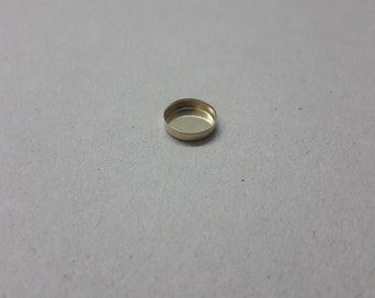 10 mm yellow goldfield bezel cup