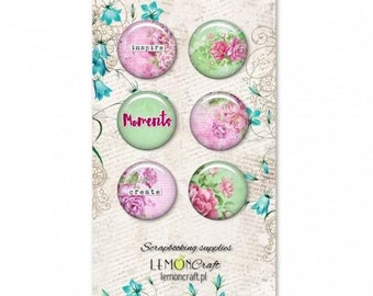 Lemoncraft Everyday Spring Buttons / Badges