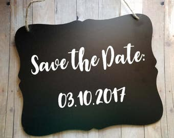 Save the Date - Wedding Sign - Flower Girl Sign - Ring Bearer Sign - Cute Sign - Ring Bearer - Wedding Decor - Engagement Announcement