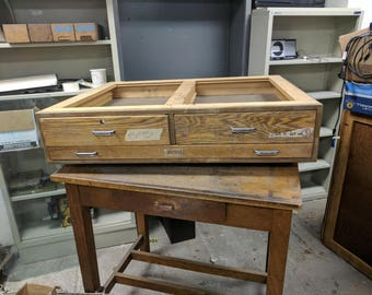 Flatfile Drawers for Drafting Table