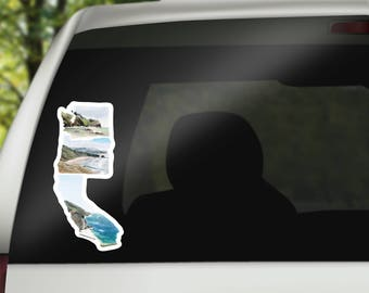 PNW Vinyl Sticker - PNW Decal - PNW Car Decal - Home State Decal - Cool Laptop Sticker - MacBook Sticker - west coast best coast decal