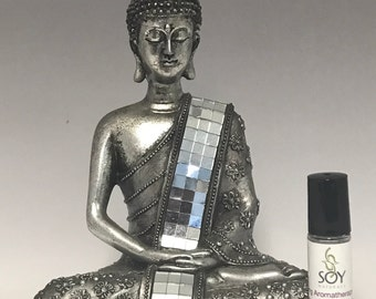 Grounding Zen Meditation Essential Oil Roll On Blend, Relaxation Blend 10ml, mind calming blend