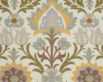 Zipper Closure Waverly Santa Maria Pebble Damask Floral Pillow Cover Decorative Throw Pillow 12 x 18