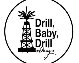 Drill Svg, Oil Well Svg, Oil Rig Svg
