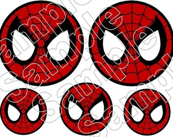 Spiderman Spidey Eyes Iron On Shirt Transfer