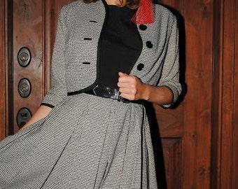 Vintage 1950's Dress Suit - Spector & Shanler Dress Suit / Jackie Kennedy style / vintage dress suit / vintage clothing / 1950s pinup