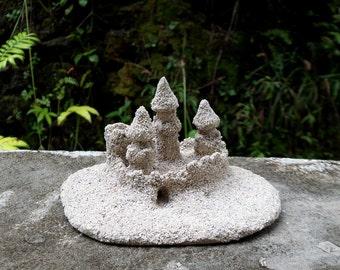 Sand Castle accessory Decoration garden child 1/12 scale Dollhouse Miniature