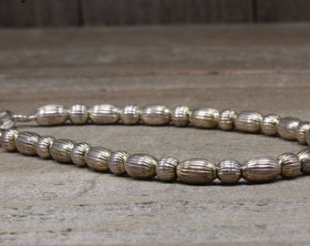 Estate, Sterling Silver Beaded Bracelet