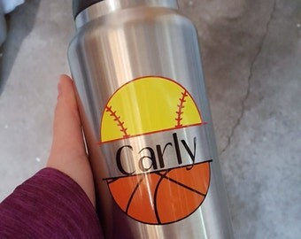 Personalized Sport Water Bottle/Personalized Kids Water Bottle/Custom Sports Water Bottle/Custom Water Bottle