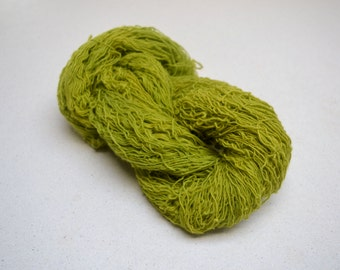 Naturally Dyed Lace Yarn Norne - green